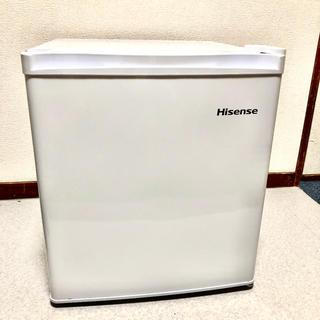 ハイセンス 小型冷蔵庫 42L 2017年製 (冷凍庫付)