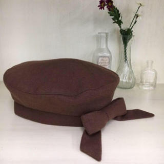F i.n.t - リボンベレー帽