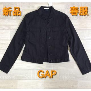 ギャップ(GAP)の【GAP】新品 春服ジャケット ブラック XSサイズ(シャツ/ブラウス(長袖/七分))