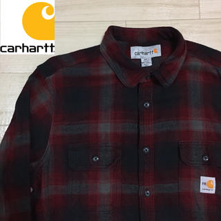 carhartt - 【used】Carhartt Design Over Check shirt