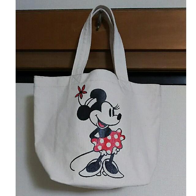 Disney(ディズニー)のディズニー トートバッグ ミニー エンタメ/ホビーのおもちゃ/ぬいぐるみ(キャラクターグッズ)の商品写真
