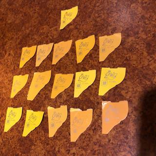 モリナガセイカ(森永製菓)の森永製菓 金のエンゼル1枚と銀のエンゼル15枚(ノベルティグッズ)