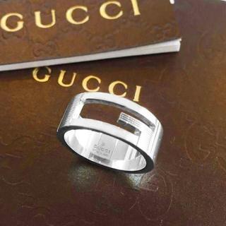 グッチ(Gucci)の☆新品☆未使用☆Gucci グッチ ブランテッドGリング8号(リング(指輪))