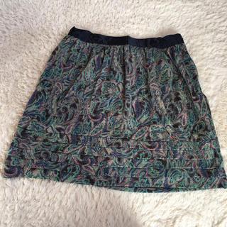 TOMORROWLAND - 感謝sale♥632♥MACPHEE.トゥモローランド♥素敵なスカート