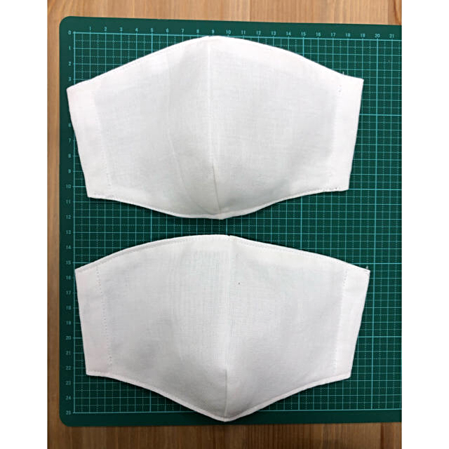 美容マスク おすすめ - 【送料無料】立体 国産さらし 綿100% インナーマスク2枚セットの通販