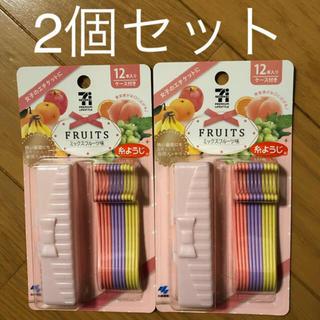 小林製薬 - 糸ようじ(ミックスフルーツ味) 12本入り✖️2個セット