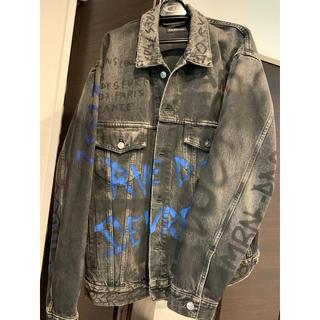 Balenciaga - balenciaga graffiti denim jacket