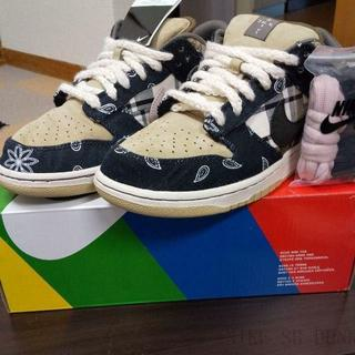 ナイキ(NIKE)の27.0NIKE SB TRAVIS SCOTT DUNK LOW PRM QS(スニーカー)