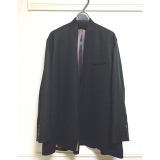 ヨウジヤマモト(Yohji Yamamoto)のKa na ta 10years jacket black(ノーカラージャケット)