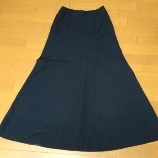 ナイスクラップ(NICE CLAUP)のNICE CLAUPの紺色ロングスカート(ロングスカート)