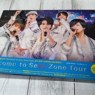 セクシー ゾーン(Sexy Zone)のWelcome to Sexy Zone Tour(初回限定盤BD) Blu-r(ミュージック)