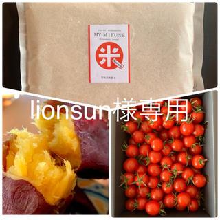 lionsun様専用 玄米10kg  あまか芋3kg  キャロルセブン2kg(野菜)