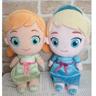 アナと雪の女王 - アナと雪の女王2 スペシャルぬいぐるみ アナ & エルサ キッズver