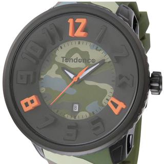 テンデンス(Tendence)の[テンデンス] 腕時計 T0430030  カモグリーン(腕時計(アナログ))