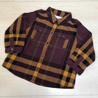 バーバリー(BURBERRY)のバーバリー《12M》チェックシャツ(シャツ/カットソー)