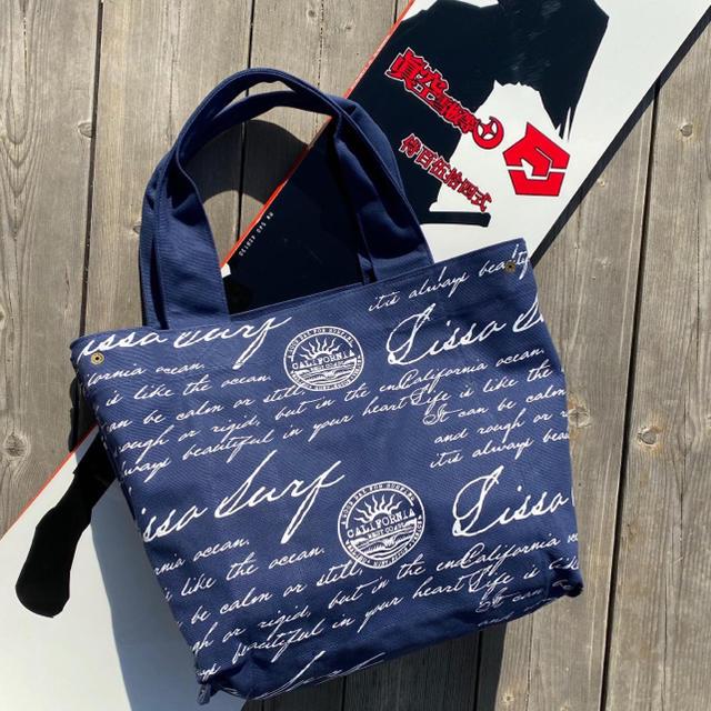 Ron Herman(ロンハーマン)の湘南で人気☆LUSSO SURF リバーシブルトートバッグ ベイフロー メンズのバッグ(トートバッグ)の商品写真
