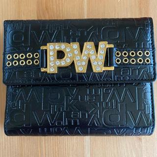 ピンキーウォルマン(pinky wolman)の【美品の折り財布】ピンキーウォルマン PINKY WOLMAN(財布)