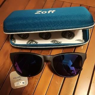 ゾフ(Zoff)の新品 Zoff Sporty サングラス ブラック パープル(サングラス/メガネ)