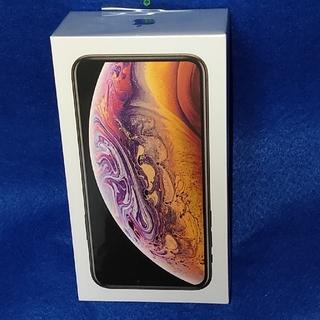 アイフォーン(iPhone)のdocomo iPhone xs 64GB gold simロック解除済 新品(スマートフォン本体)