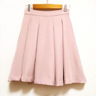 INGNI - INGNI(イング)ピンクフレアスカート スカパン スカートパンツ