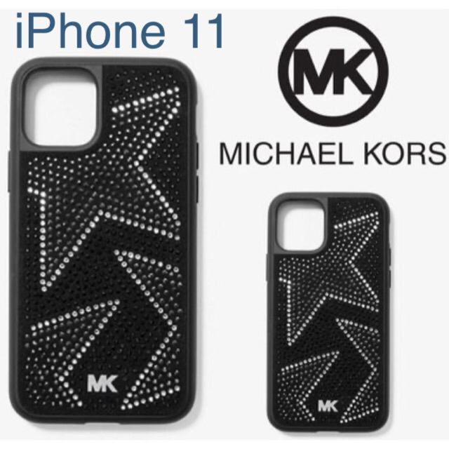 Michael Kors - 付属品全て有り★ MICHAEL KORSスター ビジュー iPhone 11の通販