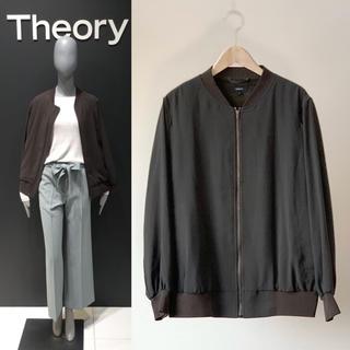 theory - TheoryセオリーPOWDER DARYETTE L MA-1 ジャケット S