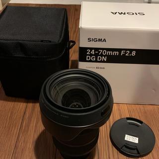 SONY - SIGMA 24-70mm F2.8 DG DN ソニーEマウント 中古美品