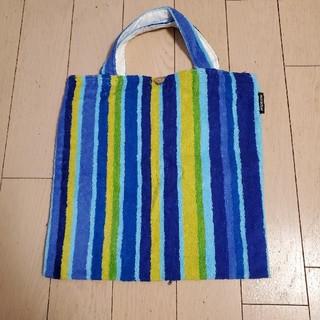 マリメッコ(marimekko)のタオル生地手提げ袋(marimekko)(日用品/生活雑貨)