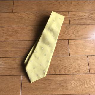 アオキ(AOKI)の【ユニバーサルランゲージ】ネクタイ ゴールド 日本製(ネクタイ)