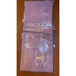 チャコット(CHACOTT)の【未使用】チャコット 巾着 紫 (ポーチ)