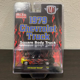 シボレー(Chevrolet)の1979CHEVROLET SILVERADO SQUAREBODYFLAMES(ミニカー)
