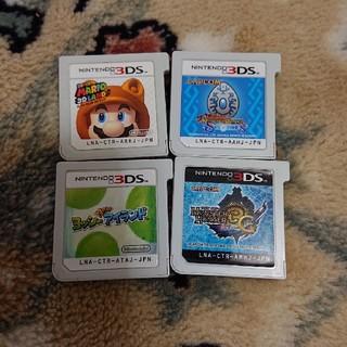 ニンテンドー3DS - 3DSソフト4枚組セット マリオ&ヨッシーなど