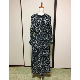 chocol raffine robe - 花柄 ロングワンピース《K338》
