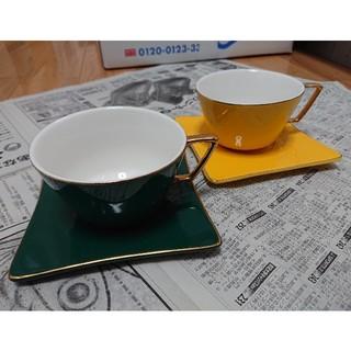 コーヒーカップ&ソーサー(グラス/カップ)