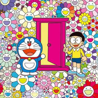 村上隆×ドラえもんポスター展 8点セット当選品(版画)