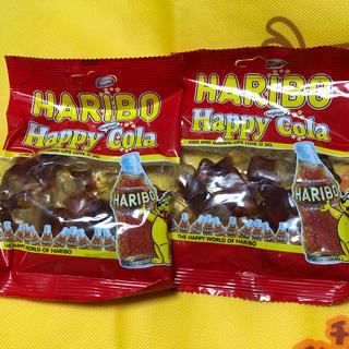 ゴールデンベア(Golden Bear)のハリボーグミ コーラ味2袋(菓子/デザート)