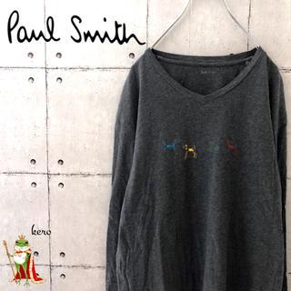 ポールスミス(Paul Smith)の【人気】ポールスミス Vネック ロンT 長袖(Tシャツ/カットソー(七分/長袖))
