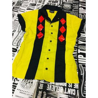 CHUBBYGANG - CHUBBYGANG★カラーシャツ 半袖 ヒスミニ チャビーギャング好き★