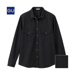 GU - GU デニムシャツ(長袖) XLサイズ
