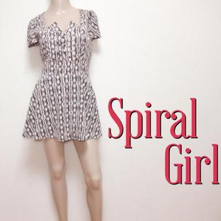 SPIRAL GIRL - 鬼くびれ♪スパイラルガール スカートパンツワンピース♡ジルスチュアート スライ