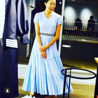 ボーダーズアットバルコニー ロングマキシ刺繍ドレス(ロングワンピース/マキシワンピース)