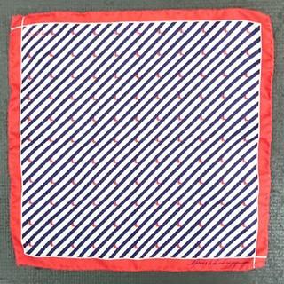 アーバンリサーチ(URBAN RESEARCH)のFEFEチーフ 赤白紺(ハンカチ/ポケットチーフ)