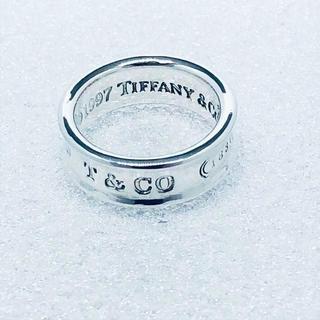ティファニー(Tiffany & Co.)の☆新品☆未使用☆ティファニー 1837ロゴリング 8号(リング(指輪))