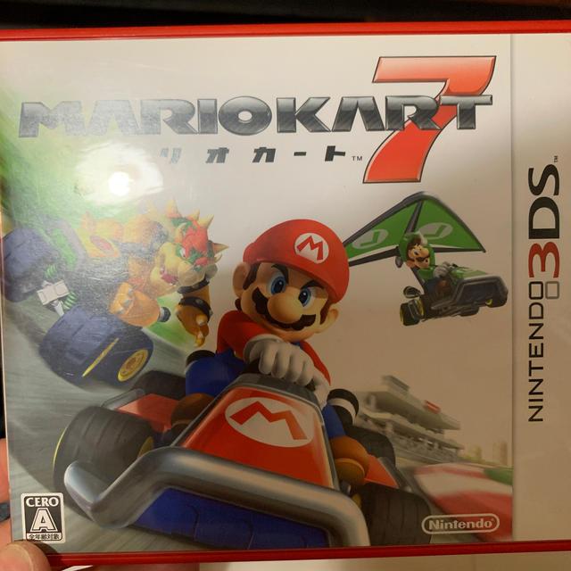 マリオカート7 3DS エンタメ/ホビーのゲームソフト/ゲーム機本体(家庭用ゲームソフト)の商品写真