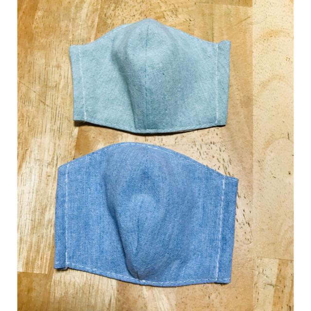 ハンドメイド 子供用 立体型インナーますく2枚組の通販