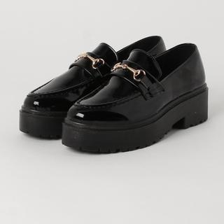 エブリン(evelyn)の厚底 ローファー(ローファー/革靴)