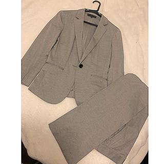 アンタイトル(UNTITLED)のほぼ新品 アンタイトル パンツスーツ 綿(スーツ)