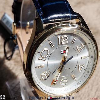 トミーヒルフィガー(TOMMY HILFIGER)の数量限定☆ TOMMY HILFIGER 人気の腕時計 GOLD & NAVY★(腕時計)