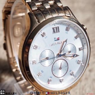 トミーヒルフィガー(TOMMY HILFIGER)の☆数量限定☆ TOMMY HILFIGER 人気の腕時計 ローズゴールド★(腕時計)