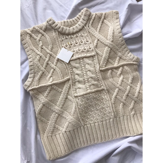 TODAYFUL - TODAYFUL Cable Knit Vest ニットベスト